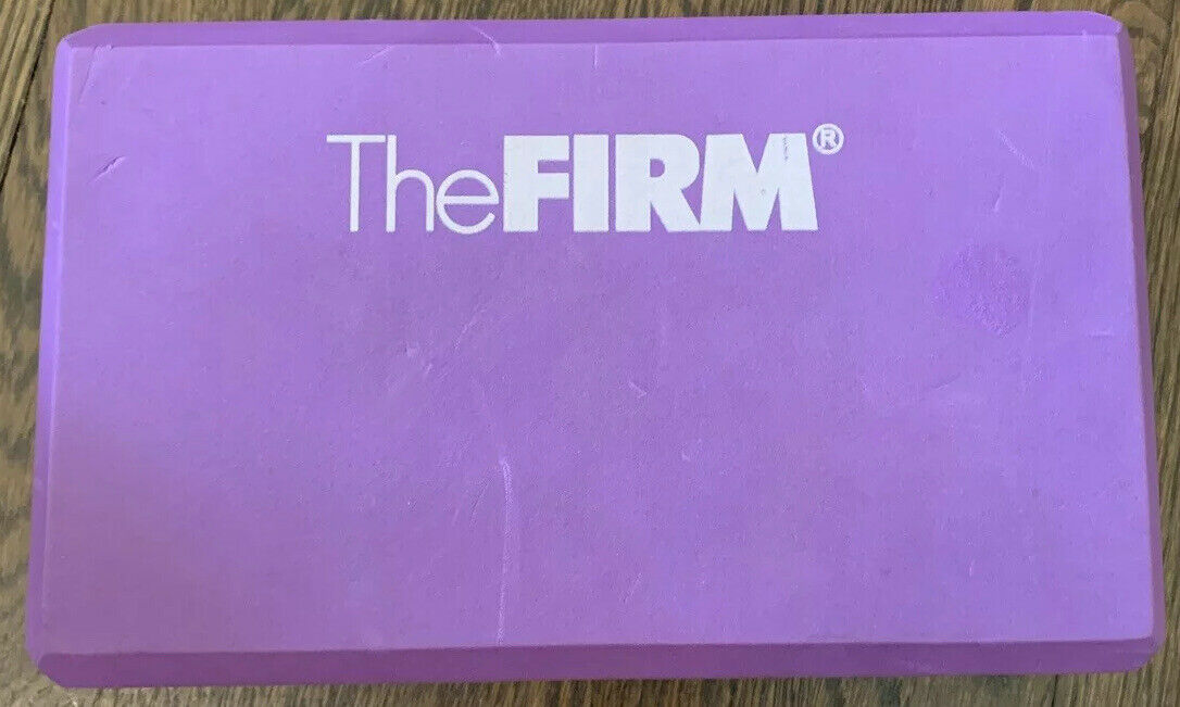 Purple The FIRM Foam Yoga Block Workout Series Block Only