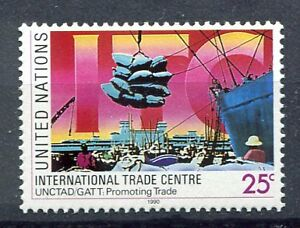19227-UNITED-NATIONS-New-York-1990-MNH-Nuovi-Int-Trade