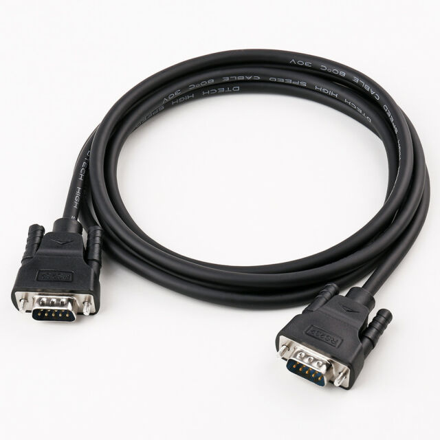1 ft DB9 M//F RS232 Serial Extension Cable SF Cable