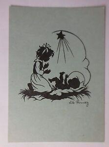 034-Angel-Children-Nativity-Scene-034-1947-Silhouette-Lilo-Pannwitz-45612