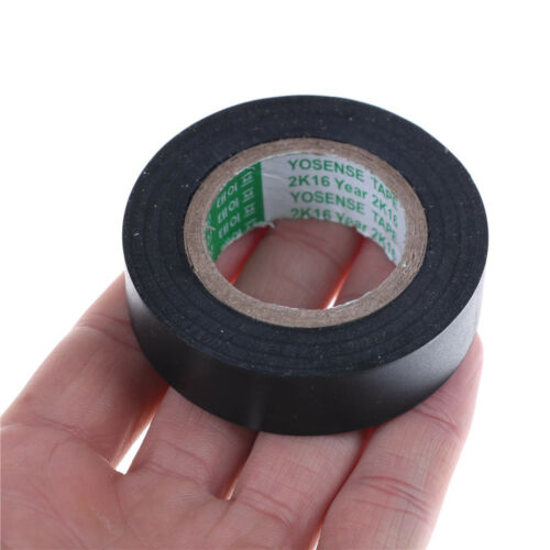 Black PVC Electrical Wire Heat Resistant Vinyl Insulating Tape Roll 16mm*20m