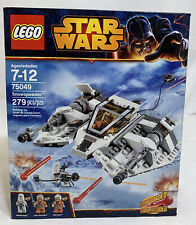 SEALED 75049 LEGO Star Wars SNOWSPEEDER Spaceship Snowtrooper Luke Skywalker set