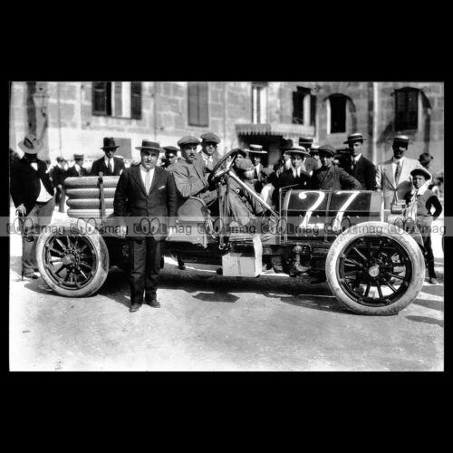 #pha.016791 Photo ANGELO DIANA ISOTTA FRASCHINI TARGA FLORIO 1913 Car Auto