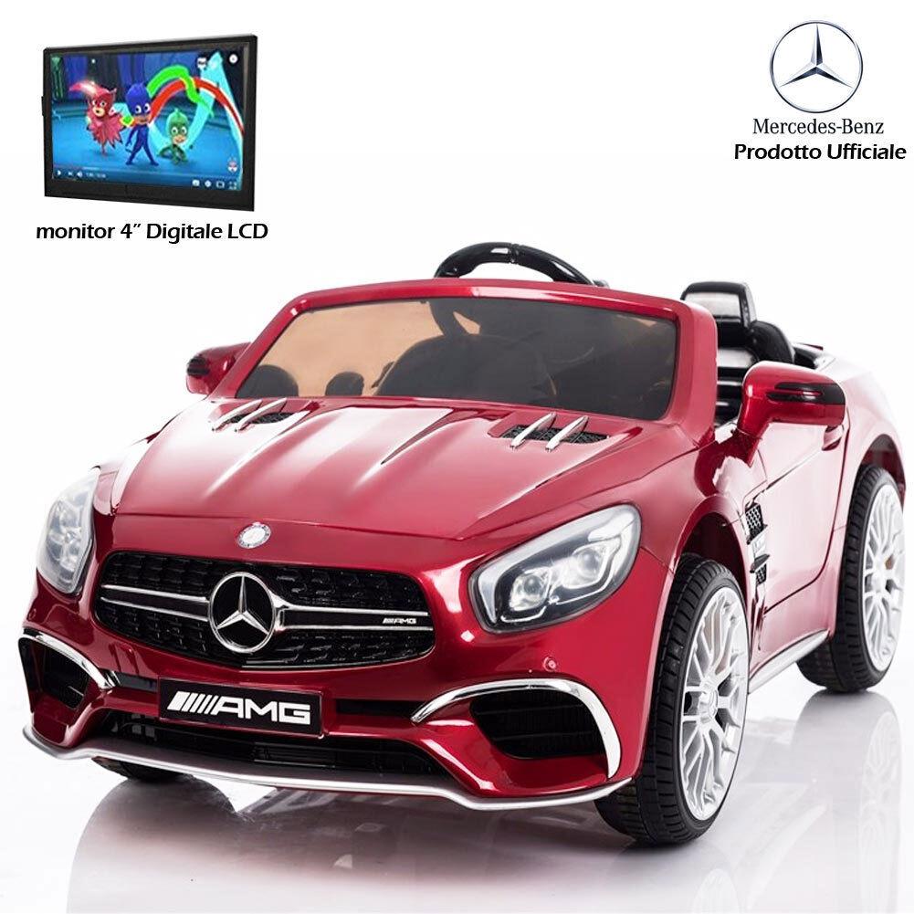 Auto Voiture électrique pour les les les enfants Mercedes SL65 AMG Rouge 12V 84b77a