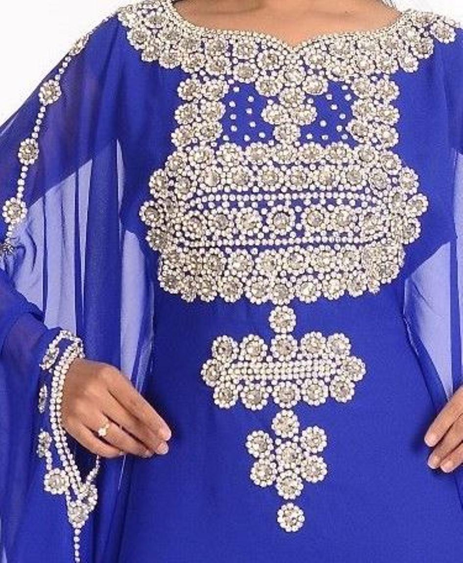 Designer Farasha MgoldCCAN KAFTAN JILBAB Dubai Abaya Abaya Abaya MIX  WOMEN 4889 8ed298
