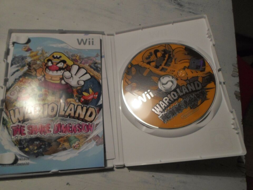 Wario Land Shake dimension, Nintendo Wii