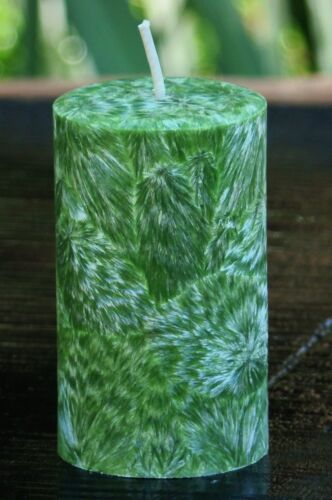 200hr UNSCENTED Pure /& Healthy Organic Coconut Wax /& Cotton Wick PILLAR CANDLE