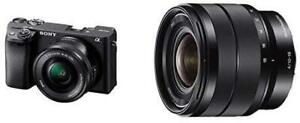 NEW Sony Alpha A6400 Mirrorless Camera E Mount Compatible with 16-50mm Lens- Ilce-6400L/B with Sony SEL1018 (7742156)... Oshawa / Durham Region Toronto (GTA) Preview