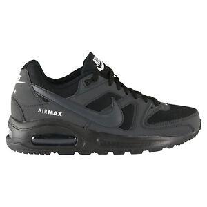 Détails sur Nike Air Max Command Flex (GS) Chaussures Sneaker Enfants Noir 844346 002 afficher le titre d'origine