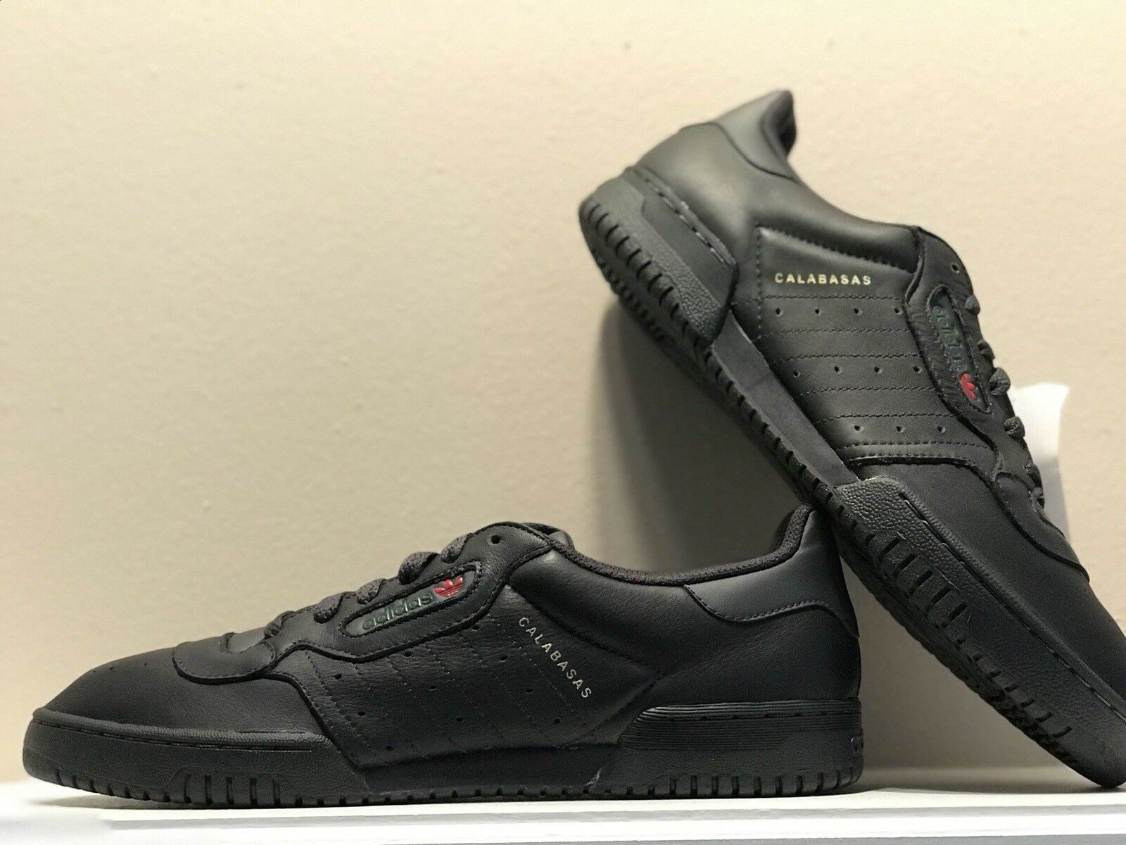YEEZY POWERPHASE SIZE 11 NEW IN BOX CORE BLACK