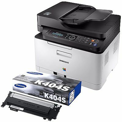 Samsung Xpress C480FW Laser Printer+Additional Samsung CLT-K404S/XAA Black Toner