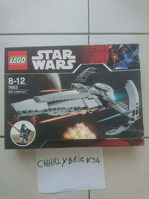 LEGO Star Wars 7663 Sith Infiltrator neuf scelle | New sealed