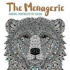 The Menagerie: Animal Portraits to Color by Barron's Educational Series (Paperback / softback, 2016)