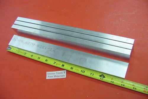 "4 Pieces 3//8/"" X 1-1//2/"" ALUMINUM 6061 T6511 FLAT BAR 14/"" long .375/"" Mill Stock"