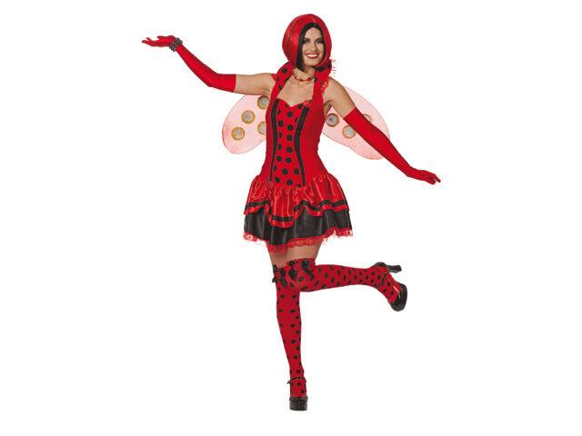 Marienkäfer Marien Käfer Schmetterling Fee Kostüm Kleid Damen Marienkäferkostüm | | | Niedrige Kosten  | Shop Düsseldorf  | Attraktiv Und Langlebig  5ce68b