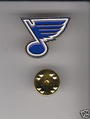 ST. LOUIS BLUES STL Hockey Team Logo METAL HAT LAPEL PIN New Sealed Mint