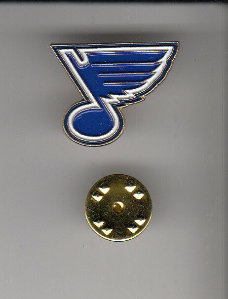 Lot 50 x ST. LOUIS BLUES STL Hockey Team Logo METAL HAT LAPEL PINS New Sealed
