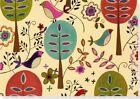 Note Card Folk Art Birds 9781593597634 Peter Pauper Press Inc US 2009 Cards