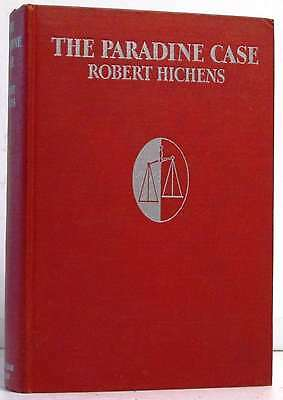 The Paradine Case.Hichens, Robert..Book.Good