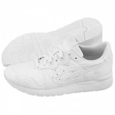 asics Gel Lyte GS White / White Older Girls Boys Trainers Size 4 UK RRP £50 New
