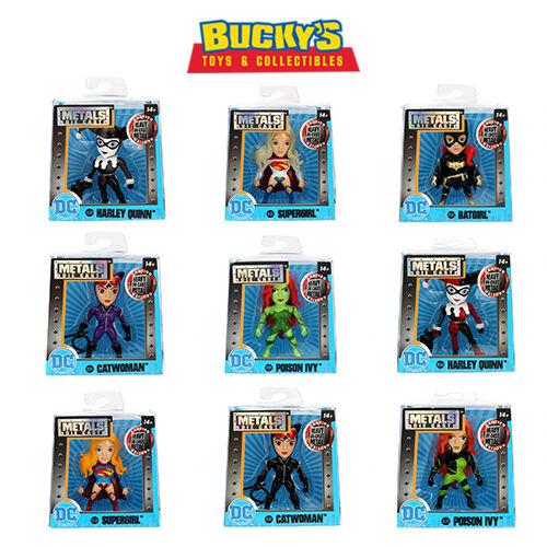 DC Comics Metals Die Cast Jada Toys Girl  Villains Superheroes
