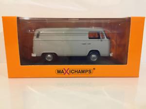 Maxichamps 940053060 Volkswagen T2 Entrega Furgoneta gris 1972 Escala 1 43