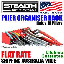 STEALTH SPECIALTY TOOLS Plier Organiser Rack Tool Storage Toolbox Pliers ERNST