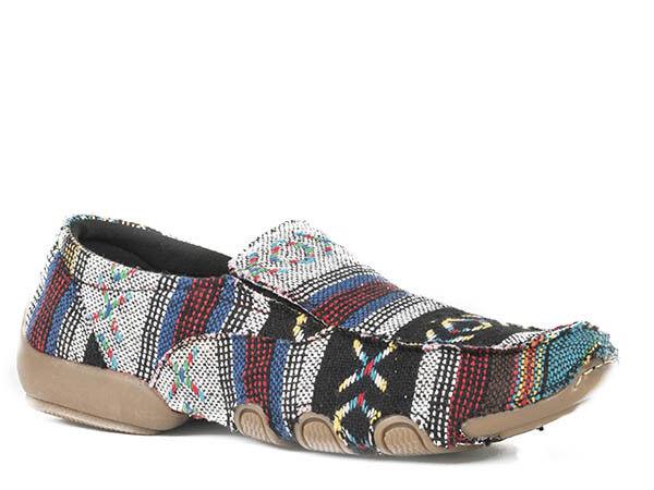 Roper para mujeres Damas MultiColor Zapatos sin sudoeste de tela  envuelto de conducción  apresurado a ver
