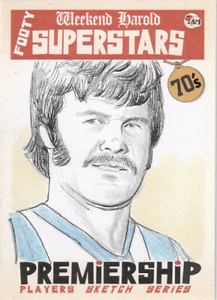 Barry-Davis-North-Melbourne-AFL-VFL-Footy-Acheron-Mint-sketch-card
