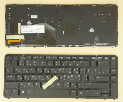 NEW for HP 731179-251 736654-251 9Z.N9JBV.20R NSK-CP2BV KEYBOARD BACKLIT Russian