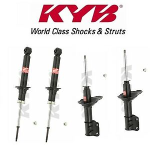 Pair Set of 2 Rear KYB Excel-G Suspension Shock Absorbers For Nissan Altima 2007-2017 Maxima 2009-2014