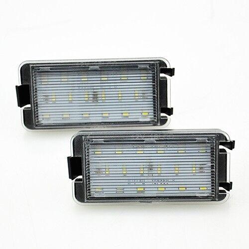 Premium LED SMD Kennzeichenbeleuchtung Xenon für Seat Ibiza IV 6L Cordoba