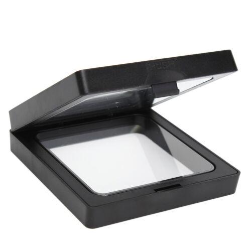 bijoux d/'affichage Shadow Box cadre photo 3D Cadre flottant Box 9x9x2 cm