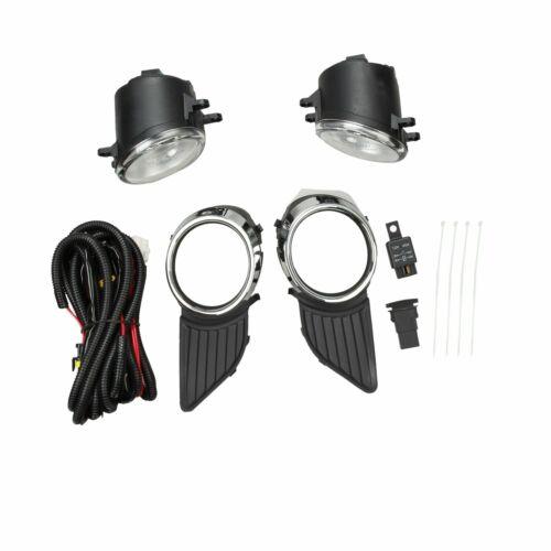 Bumper Driving Fog Lights Lamp Switch Wiring Bulb Fits 11-17 Toyota Sienna