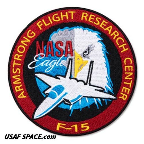 NASA EAGLE ARMSTRONG FLIGHT RESEARCH CENTER F-15 USAF Research Aircraft PATCH