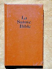 French Darby Bible, La Sainte Bible, Brown Hardcover Larger Print