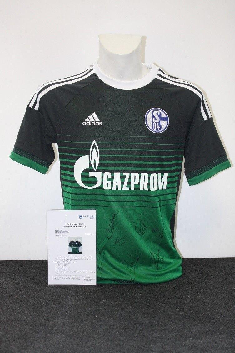 differently 56b09 c0b7e Schalke 04 Trikot, Günstige   176 S04, Teamsigniert ...