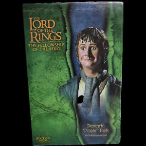 LOTR-Lord-of-the-Rings-Peregrin-Pippin-Took-1-4-Scale-Bust-Sideshow-Weta-NEW
