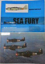 Warpaint Series No.16 - Hawker Sea Fury               24 Pages       Book