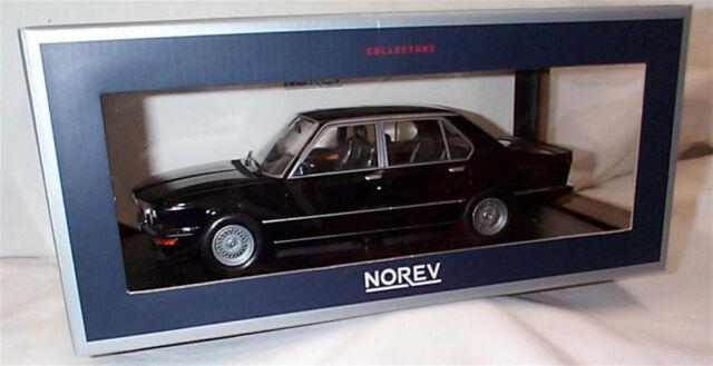 NOREV Nv183264 1980 BMW M535i Model Toy Black 118 Scale | eBay