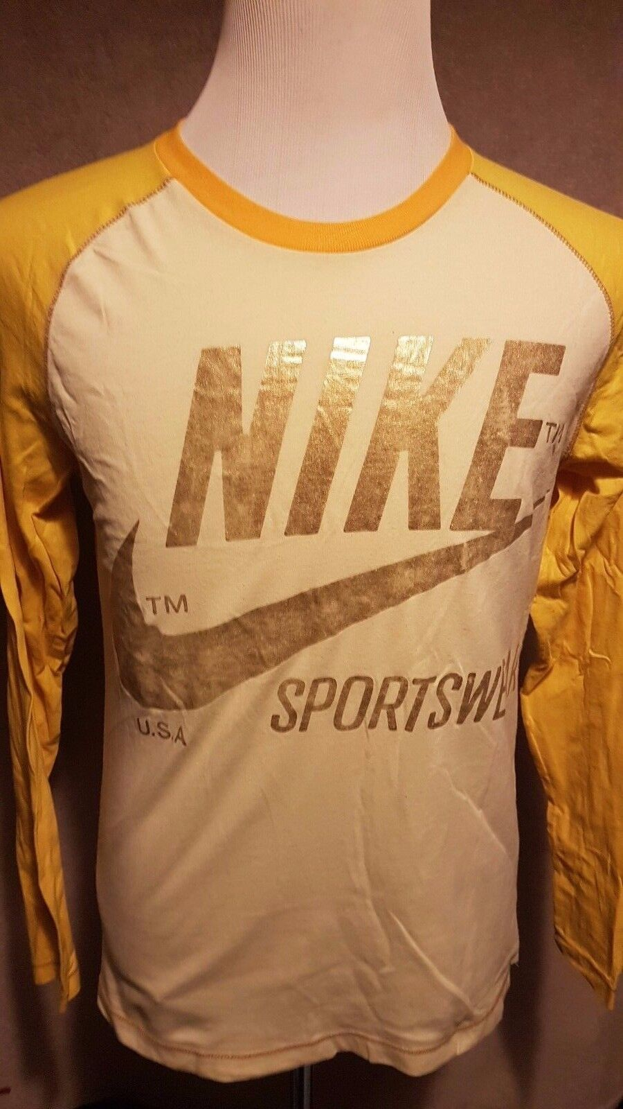 NIKE NIKE NIKE Limited Issue No. SW-78 Man's Long Sleeve Top Größe  S M VERY GOOD Condition       Beliebte Empfehlung  375570