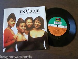 EN-VOGUE-Lies-UK-7-034-EX-NM-Atlantic-Vinyl-45-Single-Record-RnB-Swing-A-7893