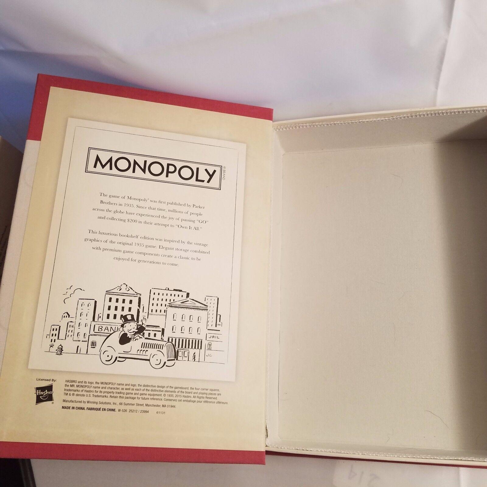 Monopoly Vintage Book Edition Collector Item RARE