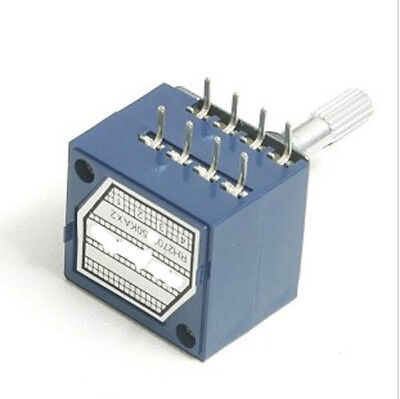 1Pc potentiometer 250K log alps audio amp volume control pot stereo w loudnes/_H4