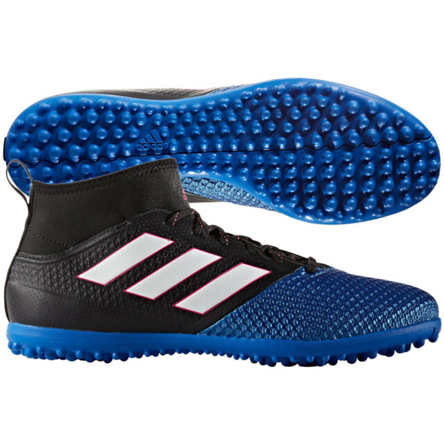 new product 9ac99 f792e adidas Ace 17.3 Primemesh TF Turf 2017 Soccer Cleats Shoes Black / Blue /  White
