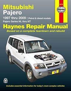 mitsubishi pajero automotive repair manual 1997 2014 by anon rh ebay com mitsubishi shogun workshop manual free download mitsubishi pajero workshop manual pdf