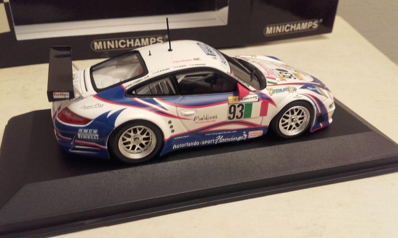 PORSCHE 911 911 911 GT3 RSR 24 heures du mans 2007 minichamps 426999