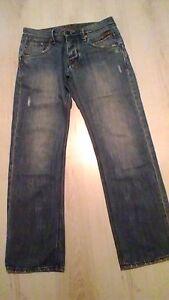 Smart-mens-designer-034-883-Police-034-lightly-distressed-034-Stola-034-jeans-30W-x-30L