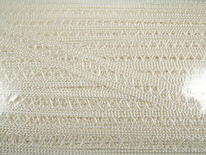 Ivory Cream Satin Ribbon Trim Trimming Four Metres 9 mm Width