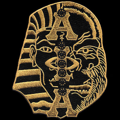 "Alpha Phi Alpha Half Sphinx//Ape 10/"" Patch"